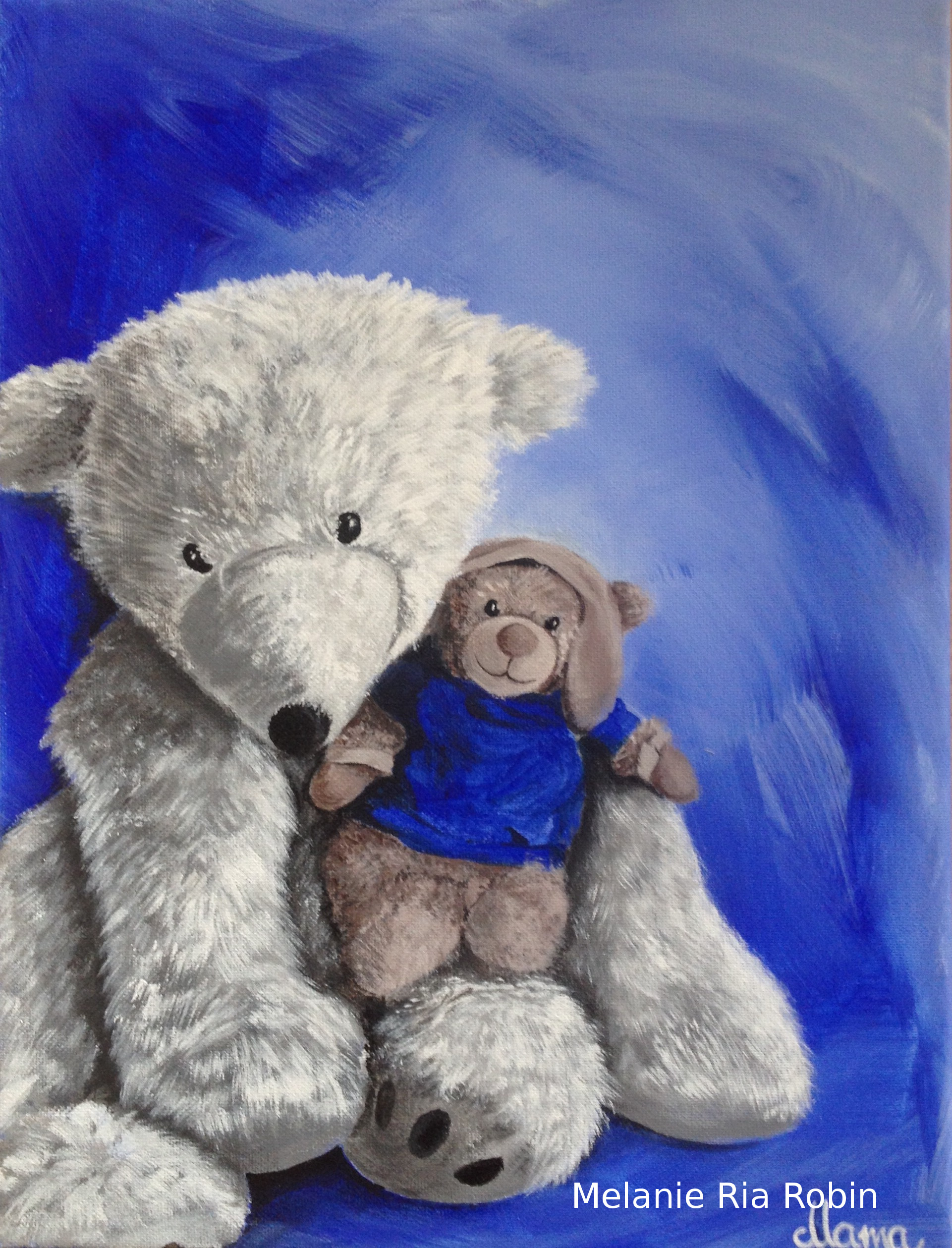 Doudou – Teddy Portrait
