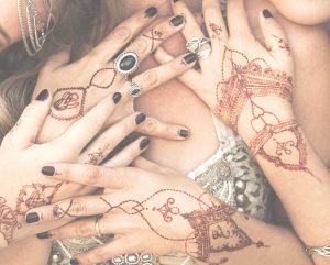 Henna Ritual Körperkunst