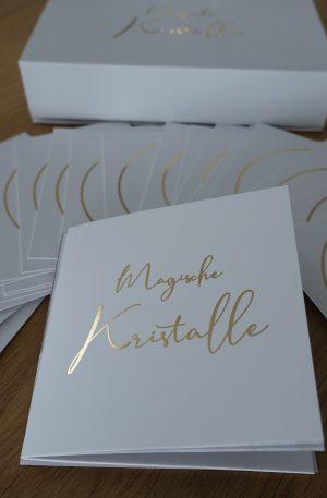 Magische Kristalle – Kartenset