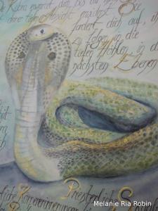 Heilige Kobra